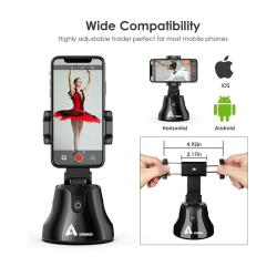 Txon 93x93x165.4mm Black Phone Holder