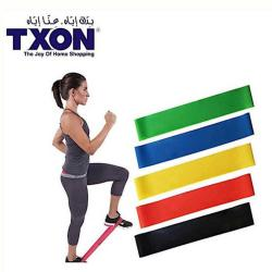 TXON RUBBER STRETCH BAND - 30 x 5 Cm باند مقاومة لاتيكس للتمارين الرياضية