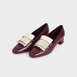 CHARLES & KEITH Women's Fringe Loafers