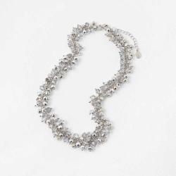 ACCESSORIZE Women's Felicity beaded collar necklace