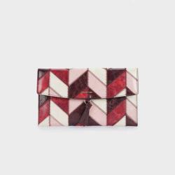 PARFOIS Women's Patchwork Design Multi-Purpose Bag
