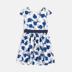 Okaidi Girl's chic printed dress