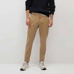 MANGO Men's Cropped tapered chino trousers