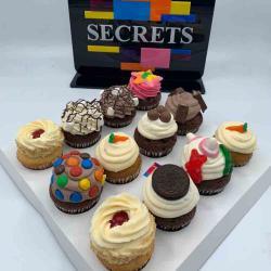 Secrets Cake 12 Cupcake Mix التوصيل داخل عمان فقط