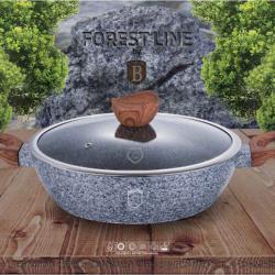 Abdeen Berlinger haus forest 28 cm tow hand frying pan and lid