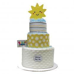 WrapIt Diaper Cake - Baby Boy