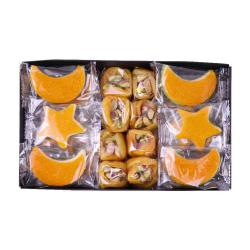 CRESCENT AND STAR APRICOT WITH MARZIPAN 1000G BOX