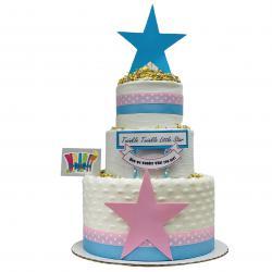 WrapIt - Gender Reveal Diaper Cake
