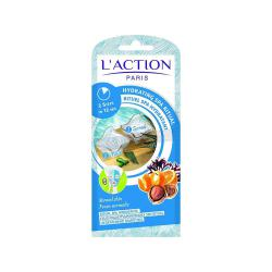 Mikiaji Women's L' ACTION Paris (France) Easy to Use Hydrating Spa Ritual, Scrub and Mask
