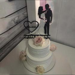 Veras Customized wedding cake