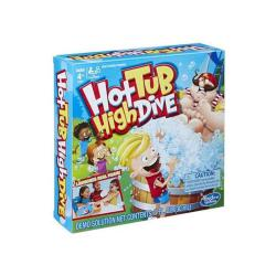 Puzzlers Hot tub high dive