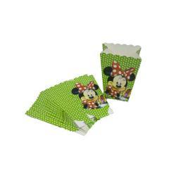 TXON Popcorn Box Minnie Mouse 10 PCs - 14 x 9 Cm
