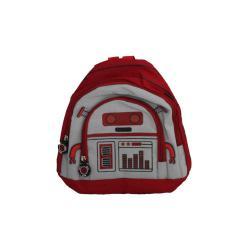 Red Robot Kids School Student BackPack 25cmx21cm