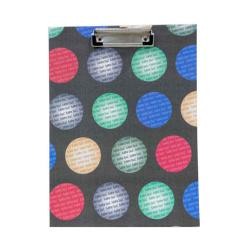 Txon Colorful Circles 23.5x31.5cm Clipboard