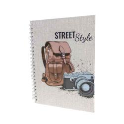 Street Style 29x21cm A4 Notebook